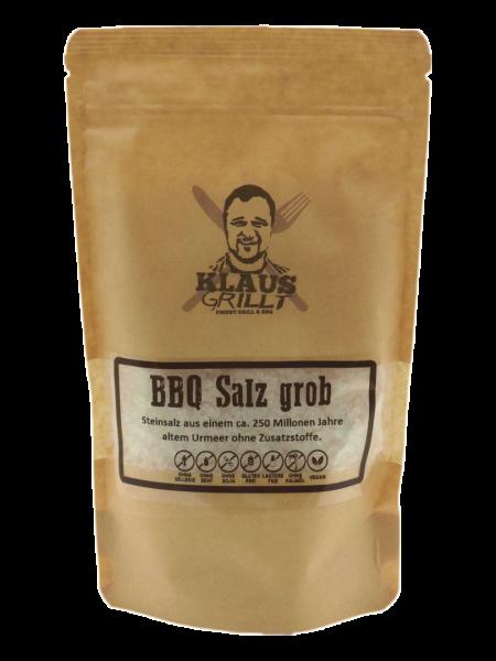 Klaus Grillt BBQ Salz grob 450 g Beutel Steinsalz