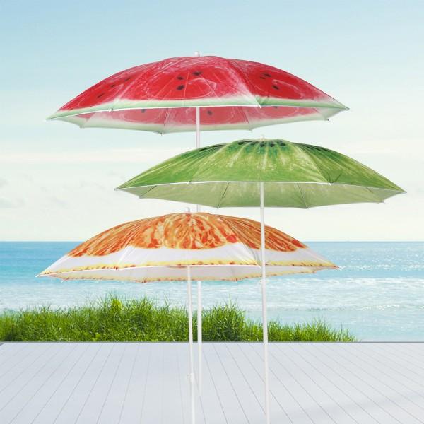 """Sonnenschirm """"Kiwi"""" - D: 150cm - 50+ UV Schutz - grün"""