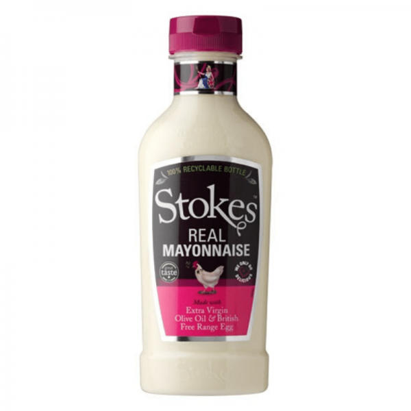 Stokes Real Mayonnaise 420ml Squeeze - cremige Mayonnaise