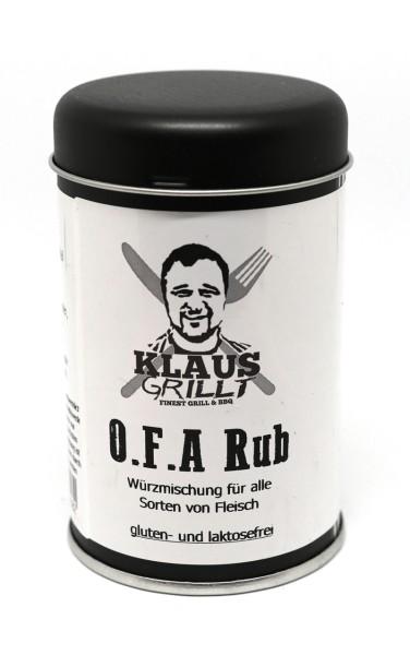 Klaus Grillt OFA BBQ Rub 120 g Streuer