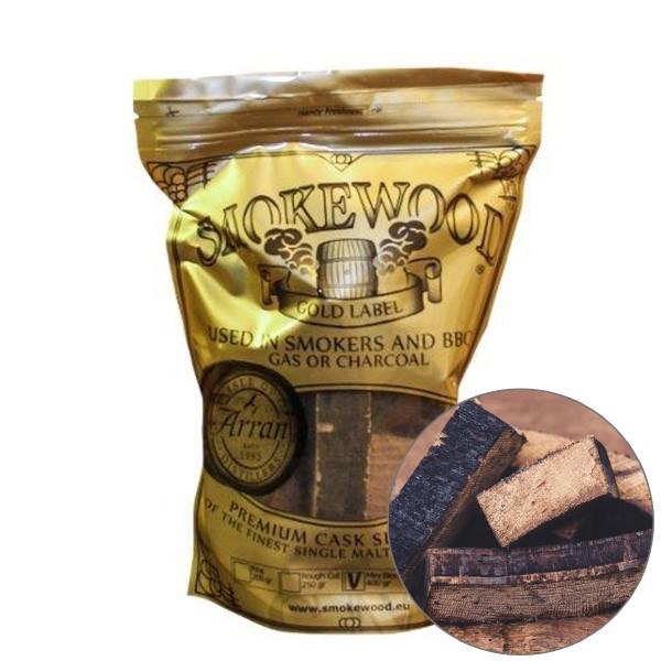 Smokewood Isle of Arran Mini Blocks - Räucherholz aus ausgewählten Bourbonfässer