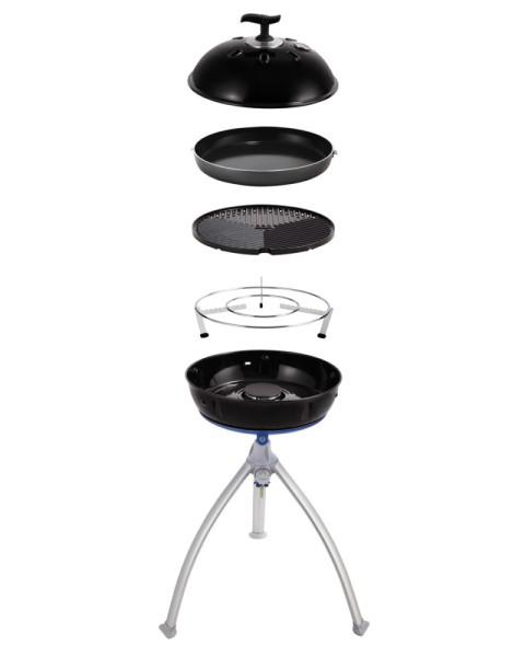 CADAC GRILLO CHEF 2 BBQ/PAN - 50mbar - inkl. Grillrost, Deckel, 36cm Pfanne und Topfständer
