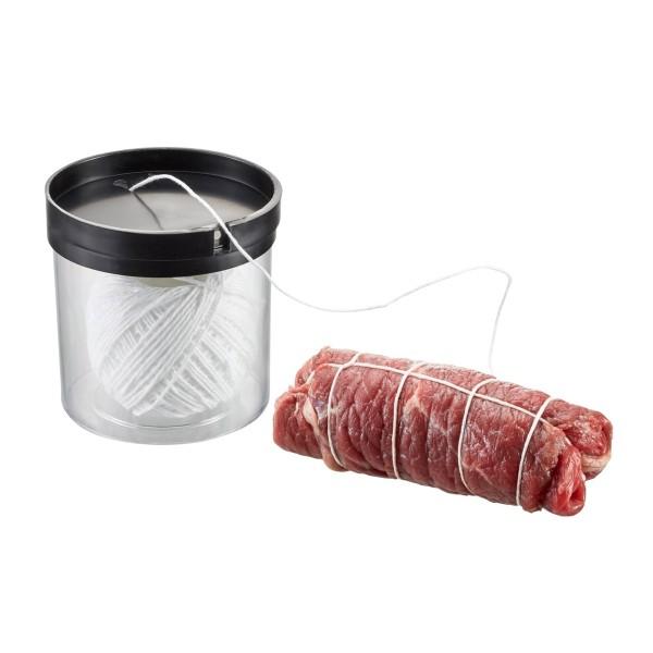 Küchengarn FILIO in Kordelbox mit Schneider - 50m - bis 175°C - Für Braten, Rouladen, Krautwickel...