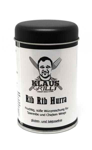 Klaus Grillt Rib Rib Hurra 120 g Streuer