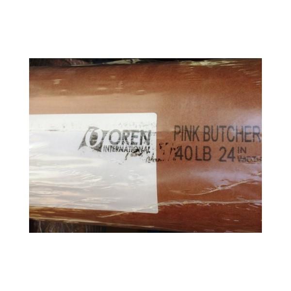Butcher Paper Original - 20m Kraftpapier Rolle - BBQ Papier - Pink Butcher