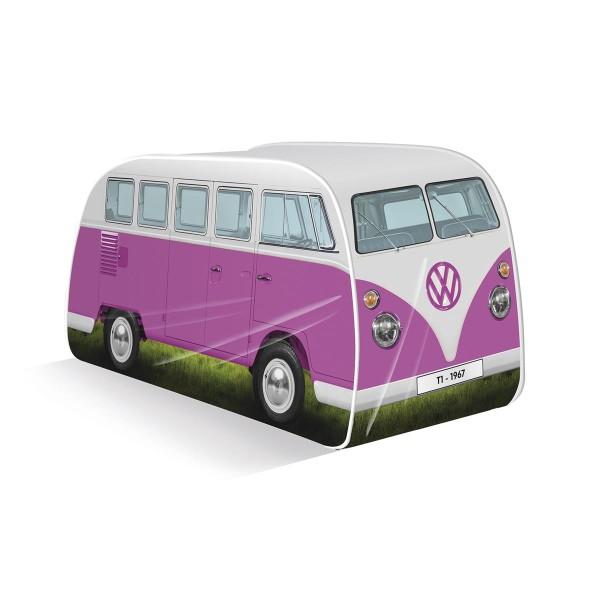 VW Collection - VW T1 Bus - Kinder Pop up Spielzelt - pink