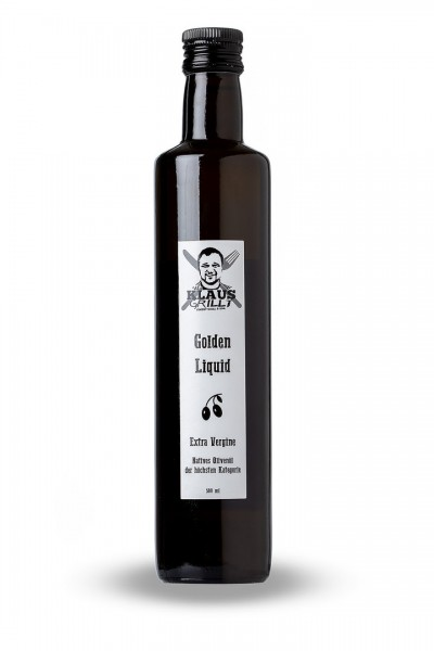 Klaus Grillt Öliven Öl Golden Liquid 500lm