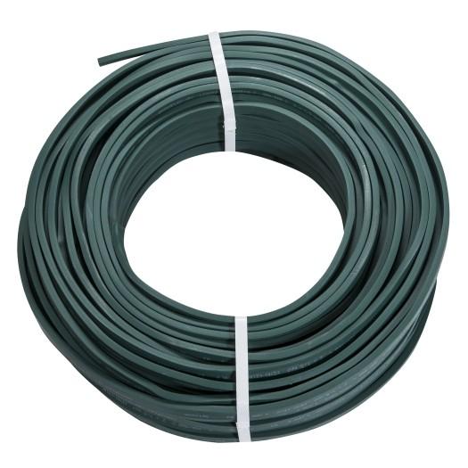 Illu Zubehör - Kabel - grün - ohne Fassungen - H05RN-H2-F 2 x 1,5qmm - Meterware - 1m Schnittlänge