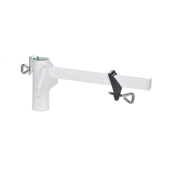 Sonnenschirmhalter für Balkongeländer und Mauern bis 25cm