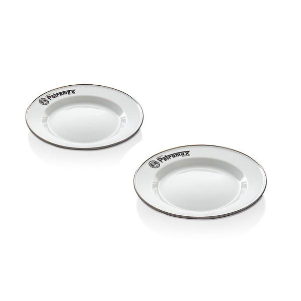 Petromax Emaille Teller weiß(2 Stück im Set)
