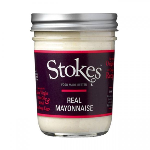 Stokes Real Mayonnaise 224ml cremige Mayonnaise