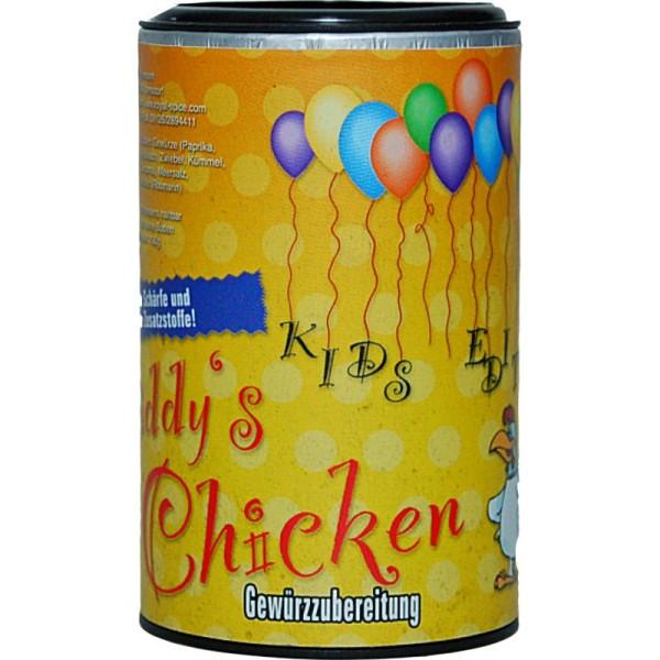 Royal Spice - Kiddy´s Chicken BBQ Rub - speziell für Kinder, ohne Schärfe - 100g Dose