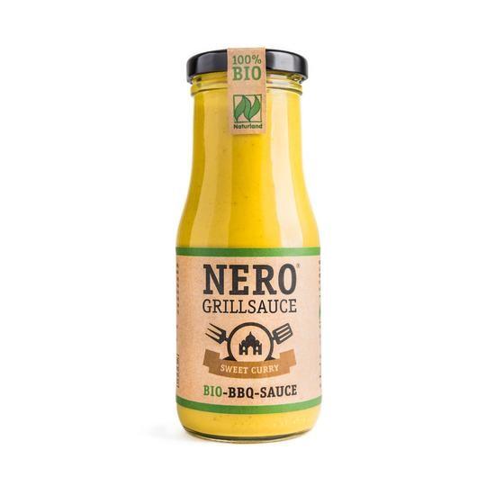 NERO BIO Grillsauce -  Sweet Curry - süßlich-würzig mit feiner Fruchtnote - 250 ml