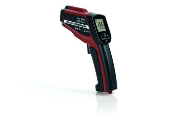 Laser-Thermometer mit großer Range - stabiles ABS Gehäuse