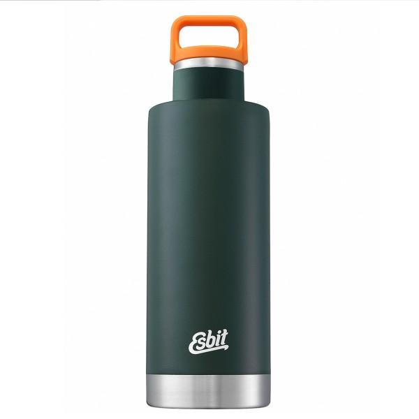 "ESBIT SCULPTOR Edelstahl Isolierflasche ""Standard Mouth"", 1L, Forest Green"
