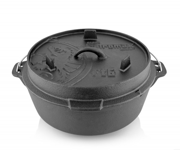 Petromax Dutch Oven ft6-t planer Boden