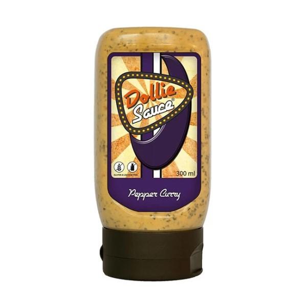 Dollie Sauce Original  300ml -- BBQ Grill Sauce für Fleisch Fisch & Geflügel - Currysoße Knoblauch Pfeffer