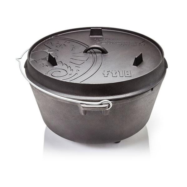 Petromax Feuertopf Dutch Oven ft18 mit Füßen - 16,1L - >20 Personen