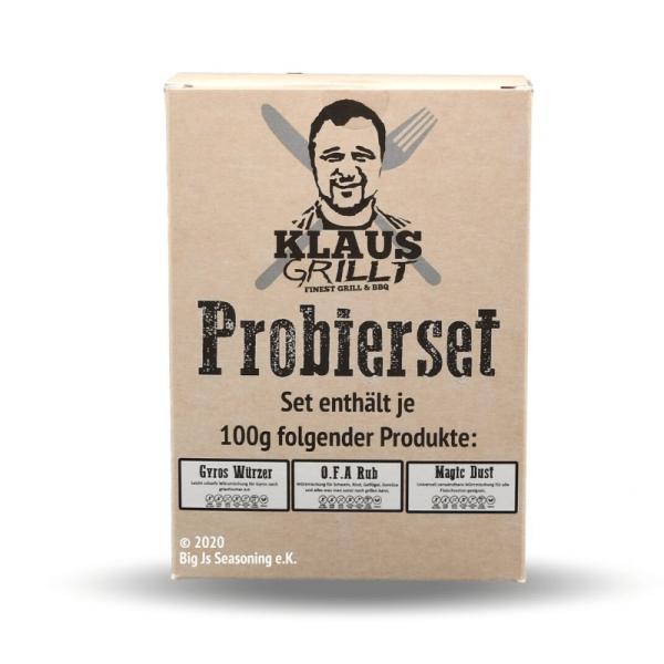Klaus Grillt Probier Set - 3 x 100g - OFA, Magic Dust, Gyros