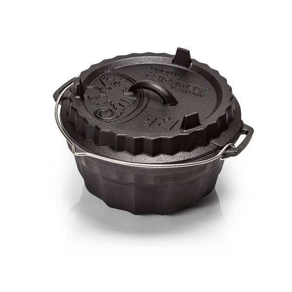 Petromax Dutch Oven Gugelhupfform mit Tortendeckel