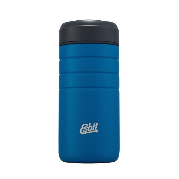 ESBIT MAJORIS Edelstahl Thermobecher mit Klick-Verschluss, 450ML, Polar Blue