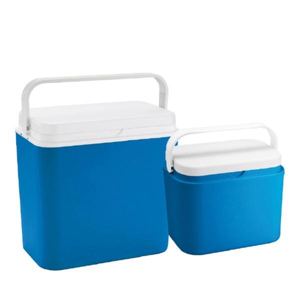 Kühlbox-SET 24 +10 Liter - bis 9h kalte Getränke - 39x24x39cm / 38x20x26cm