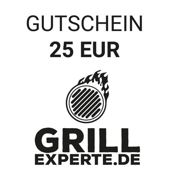 GRILL-EXPERTE.de GUTSCHEIN 25 EUR Warenwert