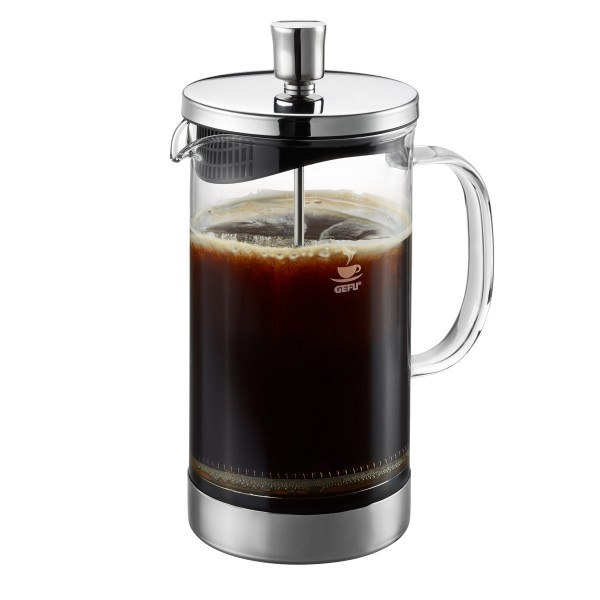 Kaffeebereiter DIEGO - French Press System - 1000ml - Glas/Edelstahl