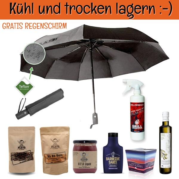 Grill-Experte.de - Kühl&Trocken Frühjahrs-Special - inkl. gratis Regenschirm - MUST HAVE PRODUKTE