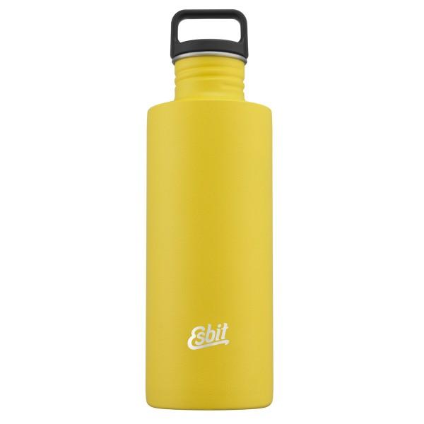 ESBIT SCULPTOR Edelstahl Trinkflasche, 1L, Sunshine Yellow