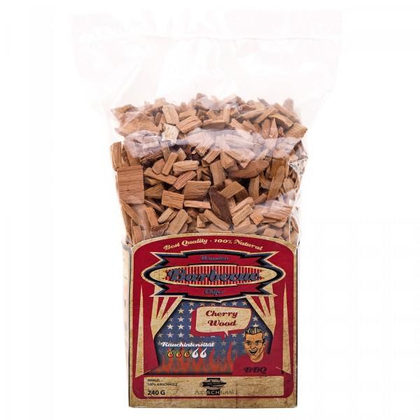 Axtschlag Cherry-Kirschholz Chips 240 g