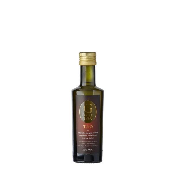 GUIDO1860 - TAO Olivenöl - extra-nativ kaltgepresst - edle Cultivar-Sorten aus Italien - 250ml