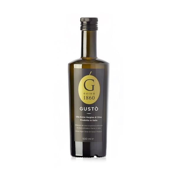GUIDO1860 - Premium Olivenöl GUSTO 500ml - extra-virgin