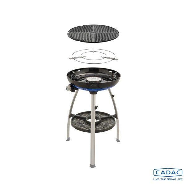 CADAC Carri Chef 2 BBQ - 50mbar - mobiler Gasgrill