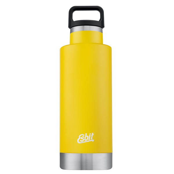 "ESBIT SCULPTOR Edelstahl Isolierflasche ""Standard Mouth"", 750ML, sunshine yellow"