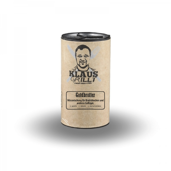 Klaus Grillt Goldbroiler 120 g Streuer