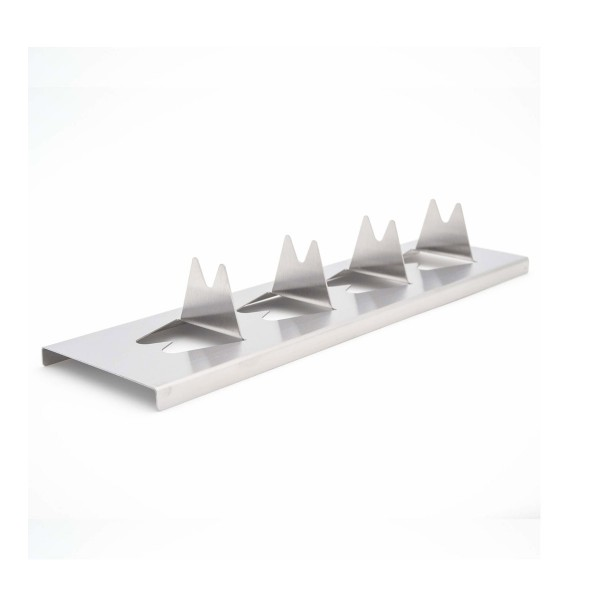 Kartoffel-Rack - Halter für Kartoffel & Co aus Edelstahl - 30 x 8 x 4,5cm - Potato Rack