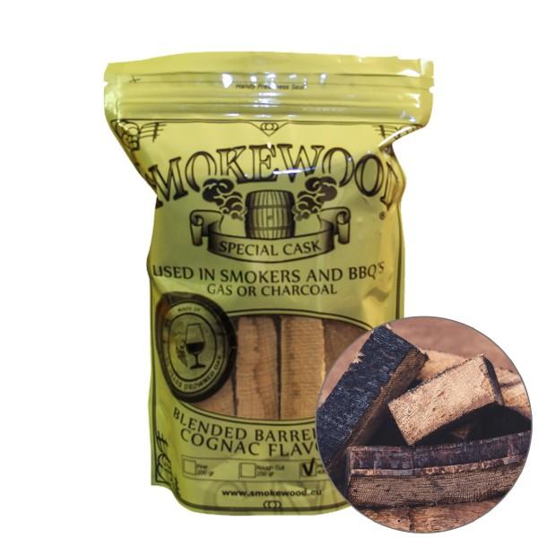 Smokewood Cognac Mini Blocks - Räucherholz aus ausgewählten Cognacfässer