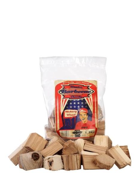 Axtschlag Hickory Chunks 1,5 Kg