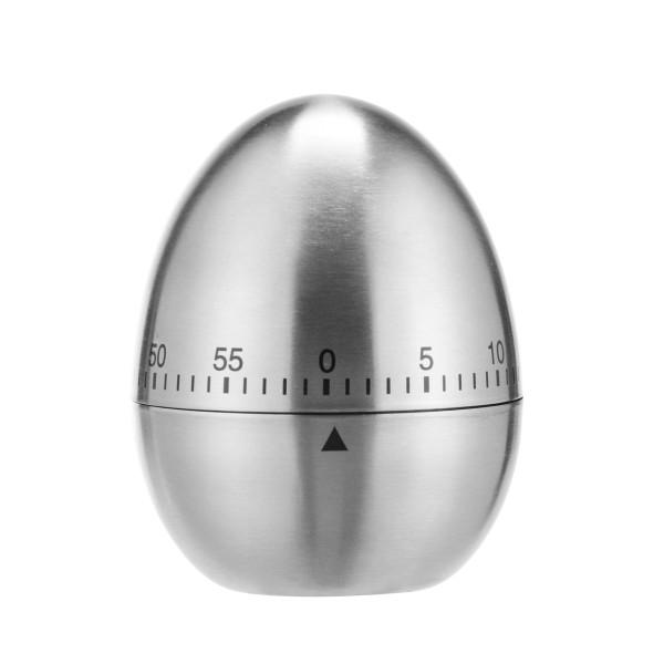 Kurzzeitmesser - Edelstahl - 60 Minuten Timer - H: 7,5cm