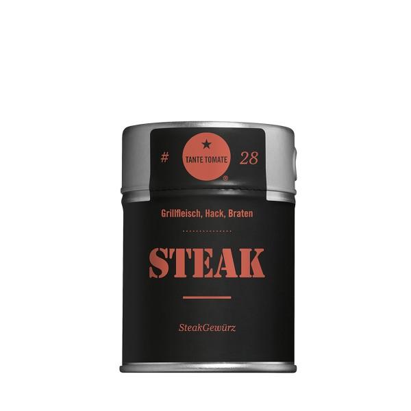 Steak - Gewürzzubereitung - Für Grillfleisch, Hack und Braten - 50g Streuer