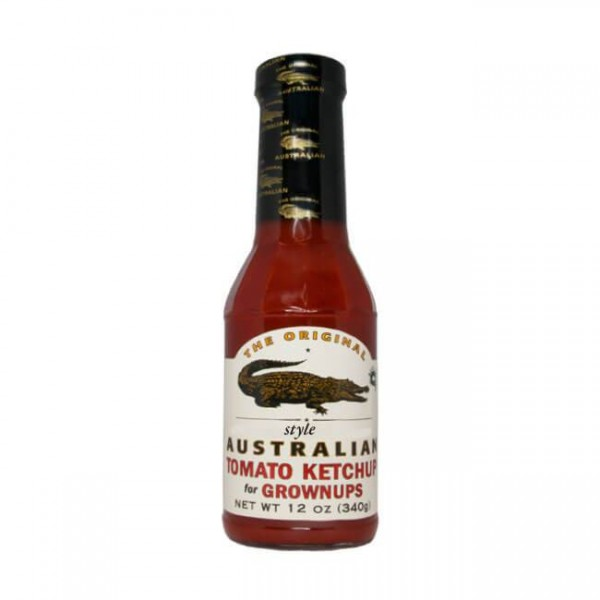 The Original Australian  Tomato Ketchup for Grownups 355ml fruchtig aber scharf