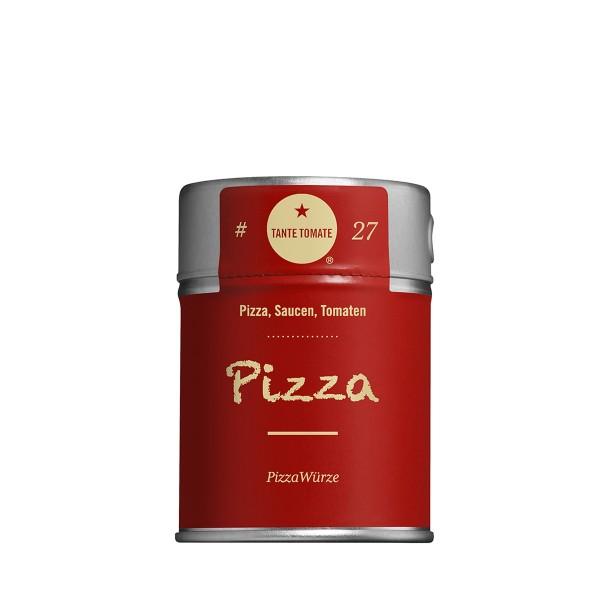 Pizza - Gewürzzubereitung - Für Pizza, Saucen und Tomaten - 40g Streuer