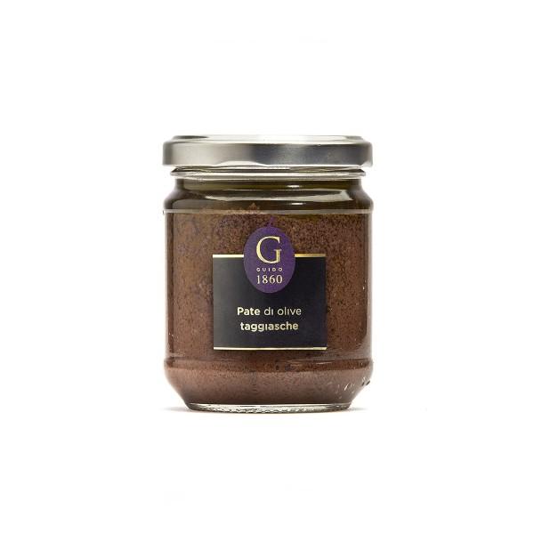 GUIDO1860 - Paste aus Taggiasche Oliven - Premium Öl - 180g Glas