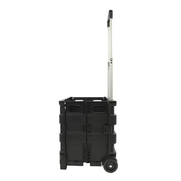Transport-Trolley klappbar mit Klappbox 25kg