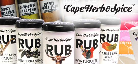 CAPE HERB & SPICE - BBQ Gewürze und Mischungen