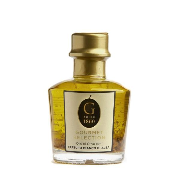 GUIDO1860 - Premium Trüffelöl - extra-natives Olivenöl aus Italien mit Trüffel - 100ml