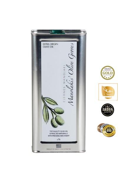 KretaNatura 5 Liter  Extra Natives Olivenöl aus Kreta