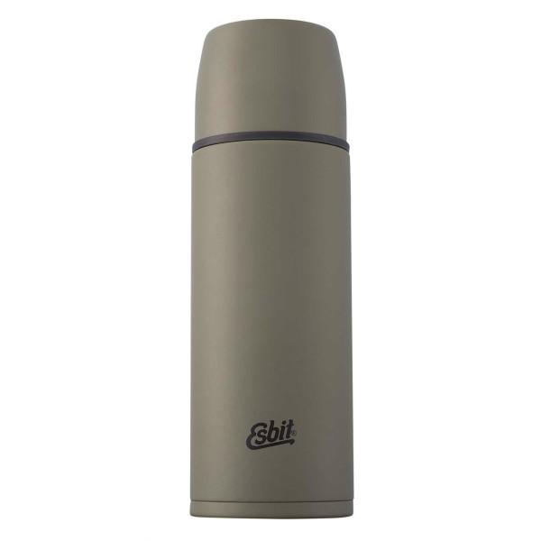 ESBIT Edelstahl Isolierflasche, 1L, Olivgrün