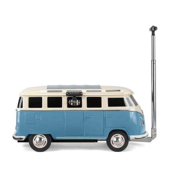 VW Collection - VW T1 Bus - fahrbare Kühlbox - 30 Liter - blau